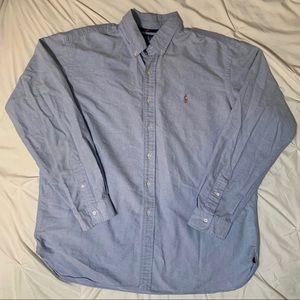 Light Blue Ralph Lauren Button Down XXL